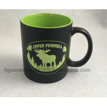 Laser Engraved Mug, Color Coating Mug with Laser Engraving